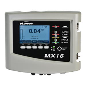 MX 16 - One channel Gas controller with display