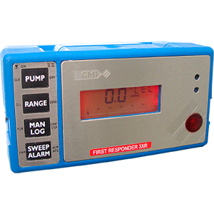 First Responder 3XR Portable Gas Detection