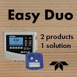 Easy Duo Gas Detection Solution