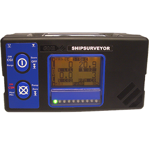 Shipsurveyor - IR Portable Gas Detector for Marine Applications