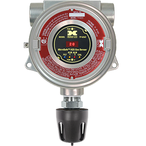 MicroSafe 500/600 Series Fixed Gas Detectors