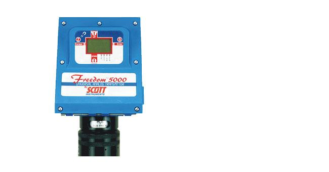 Freedom 5000 Toxic Gas Detector